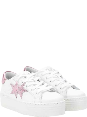 2Star Star Sneakers With Raised Sole