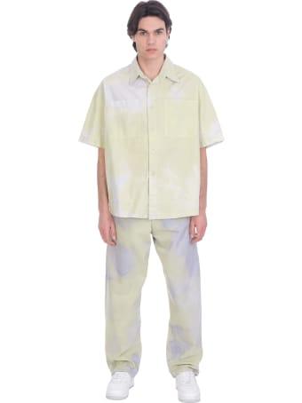 Bonsai Jeans In Green Cotton