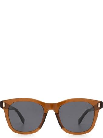 Fendi Fendi Ff M0040/s Brown Sunglasses