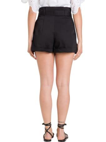 Alberta Ferretti Belted Shorts