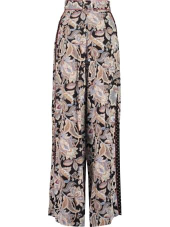 Zimmermann Printed Silk Pants
