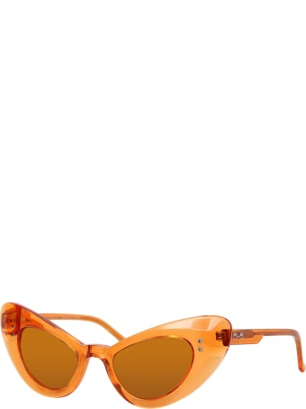 Sons + Daughters Orange Josie Sunglasses