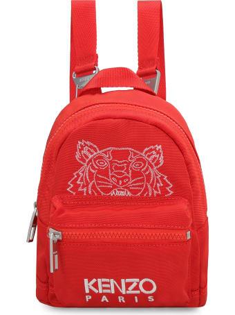 Kenzo Logo Detail Nylon Backpack