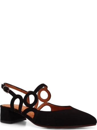 Chie Mihara 'rox' Leather Pumps