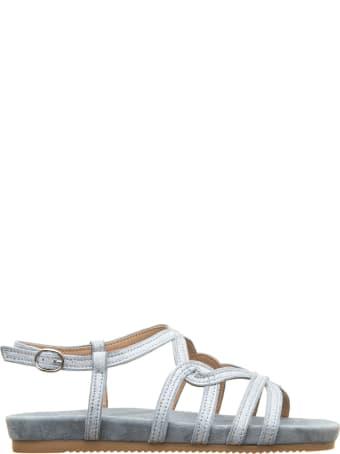 Alma en Pena Alma En Pena Silver Glitter Sandals