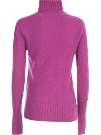 Drumohr Sweater L/s Turtle Neck W/ribbed Wrist