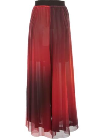 Maria Calderara Pants Sensational Printed Tulle Georgette