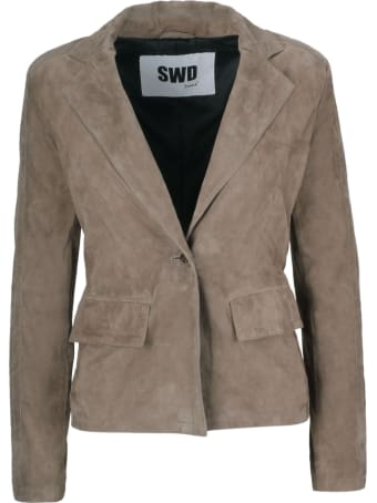 S.W.O.R.D 6.6.44 S.w.o.r.d 6.6.4.4. Single Breasted Blazer