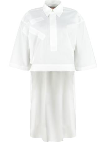 Plan C Cotton Poplin Shirt