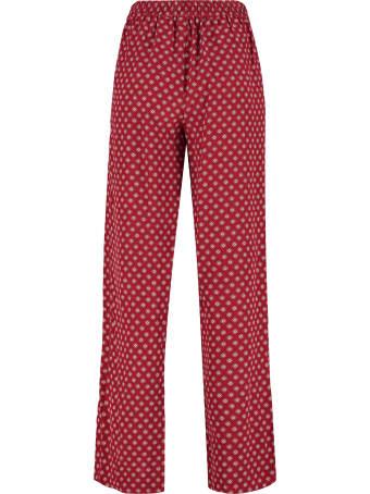 MICHAEL Michael Kors Printed Silk Pants