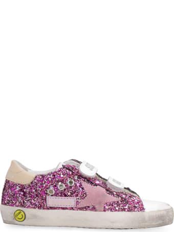 Golden Goose Old School Glitter Low-top Sneakers