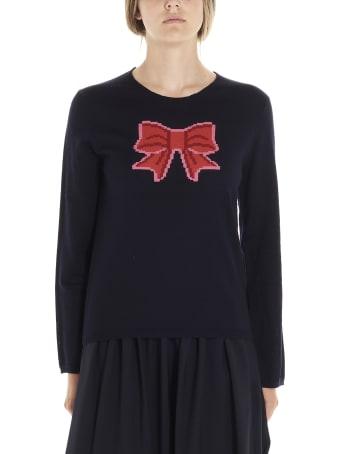 Comme Des Garçons Girl 'bow' Sweater
