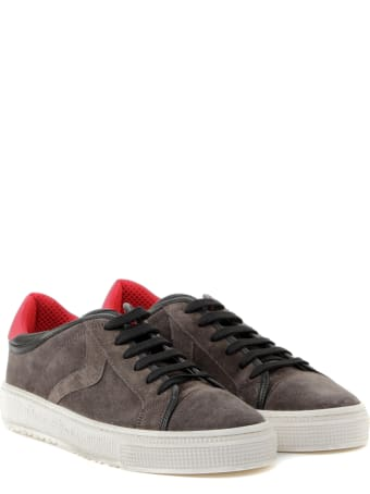 Voile Blanche Brown Suede Low-top Sneakers