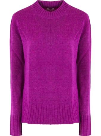 Dondup Fuchsia Wool Blend Sweater