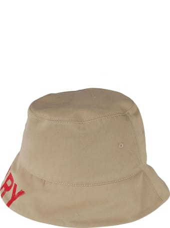 Burberry Trilby Embroidered Hat