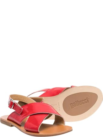 Gallucci Teen Red Sandals