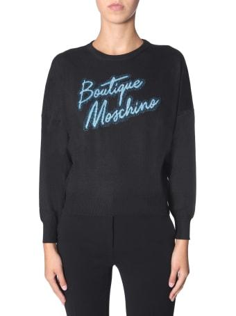 Boutique Moschino Crew Neck Sweater