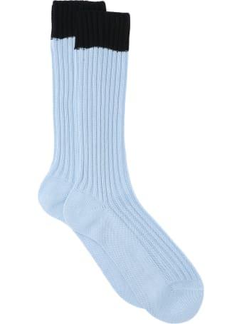 Prada Ribbed Socks