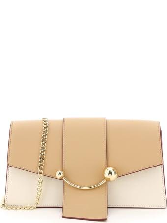 Strathberry Multicolor Crescent Mini Bag