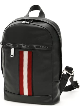 Bally Trainspotting Hari Leather Backpack