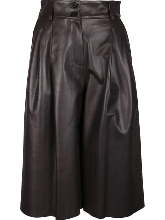 Dolce & Gabbana Wide Leg Cropped Trousers