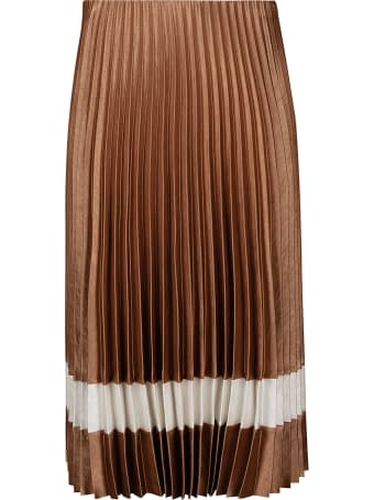 Theory Mid-length Pleated Dress