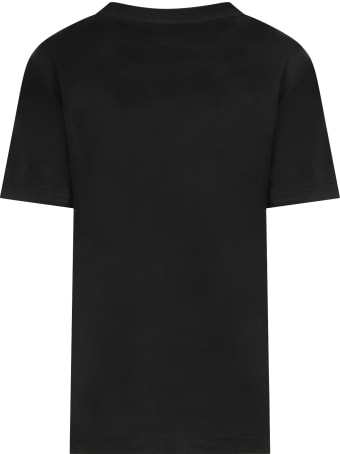 Levi's Black T-shirt For Kids With Logo