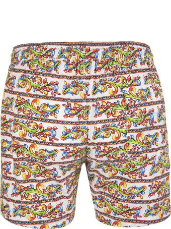 Capri Code Multicolor Vietri Sul Mare Swimsuit