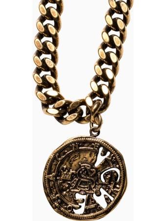Acne Studios Coin Necklace C50198