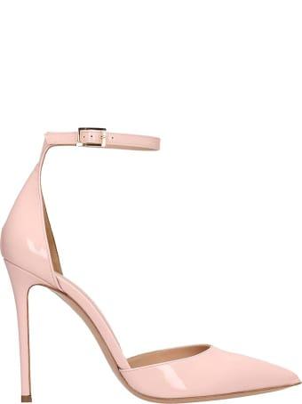 Lerre Pink Patent Leather Decollete