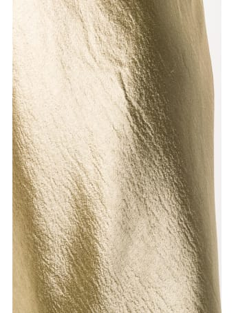 Vince Metallic Fluster Midi Dress