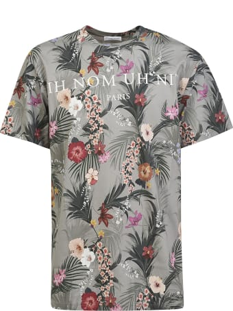 ih nom uh nit Flow & Logo Print T-shirt