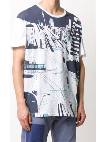 Mr & Mrs Italy Yts0042 Printed Oversize T-shirt