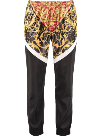 Versace Printed Techno Fabric Track Pants