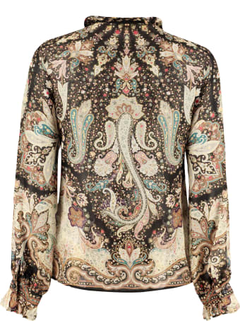 Etro Silk-cotton Blend Shirt