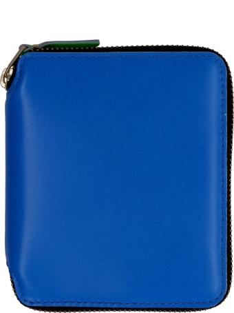 Comme des Garçons Wallet Leather Zip Around Wallet