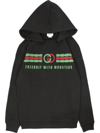 Gucci Children's Interlocking G Print Cotton Sweatshirt