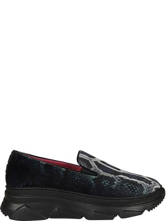 181 Alberto Gozzi Printed Slip On Sneakers