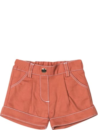 Chloé Brick Shorts Chloé Kids