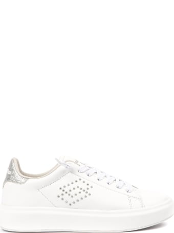 Lotto Leggenda Impressions Lth W White Leather Sneaker