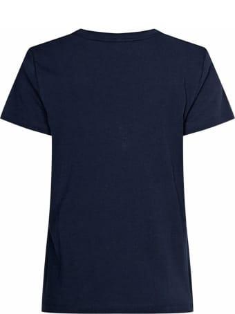 Tommy Hilfiger Blue Cotton T-shirt