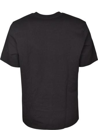 MSGM Mid Small Logo Print T-shirt