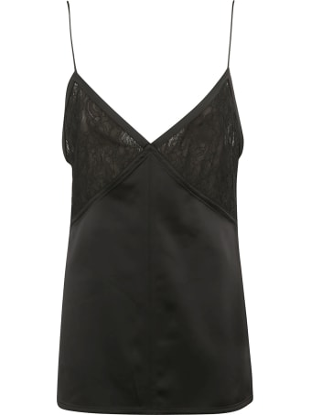Bottega Veneta Top Heavy Satin Stretch Top