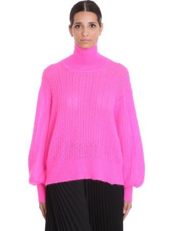 Maison Flaneur Knitwear In Fuxia Wool
