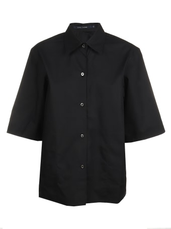 Sofie d'Hoore Short Sleeve Shirt Straight Bottom