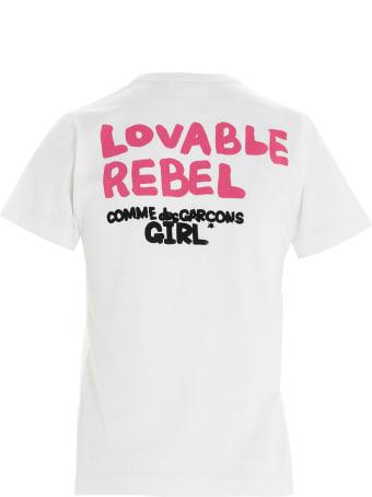 Comme Des Garçons Girl 'minnie' T-shirt