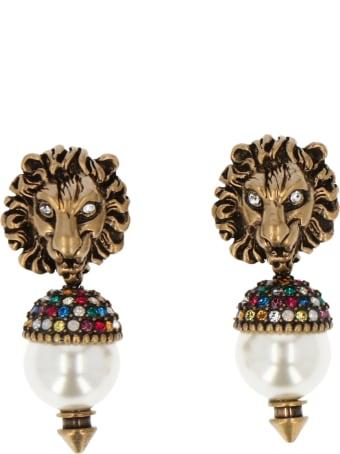 Gucci 'lionhead' Earrings