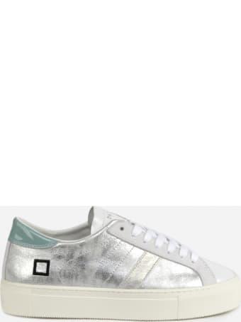 D.A.T.E. Vertigo Sneakers In Laminated Leather