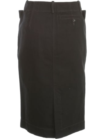 Lemaire Denim Straight Skirt