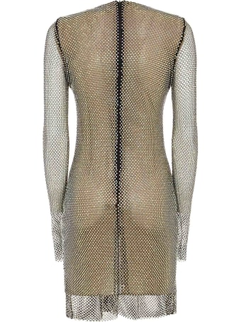 Azzaro Crystal Mini Dress